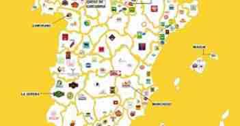 mapa variedades de queso