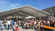público asistente a feria Barcelona degusta